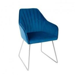 Кресло BENAVENTE (текстиль) синий Nicolas