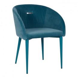 Кресло ELBE (58*59*75 cm текстиль) бирюза Nicolas