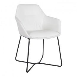 Кресло LAREDO (610*620*880) bl белый Nicolas