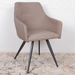 Кресло MAYA (56*60*86 cm-текстиль/экокожа) мокко Nicolas