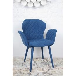 Кресло VALENCIA (60*68*88 cm-текстиль) бирюза Nicolas