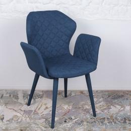 Кресло VALENCIA (60*68*88 cm-текстиль) синий Nicolas