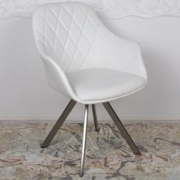 Кресло поворотное ALMERIA (610*605*880) белый Nicolas