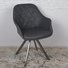 Кресло поворотное ALMERIA (610*605*880) серый Nicolas