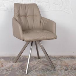 Кресло поворотное LEON (600*550*890) бежевый Nicolas