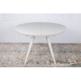 Стол обеденный AUSTIN (110 (35)*110*76cmH) капучино Nicolas