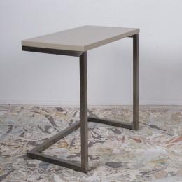 Стол приставной-консоль YORK (59.5*35*60) капучино Nicolas