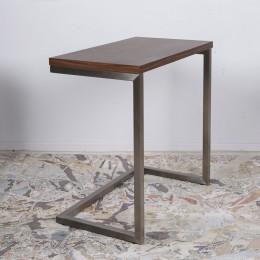 Стол приставной-консоль YORK (59.5*35*60) орех Nicolas