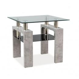 Журнальный столик LISA D бетон Signal