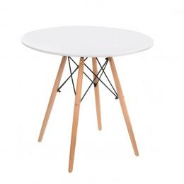 Кухонный стол ТM-35 D80*73(H) Vetro