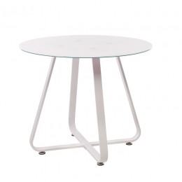 Кухонный стол Т-308 D90*76(H) Vetro