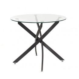 Кухонный стол Т-309 D90*76(H) Vetro