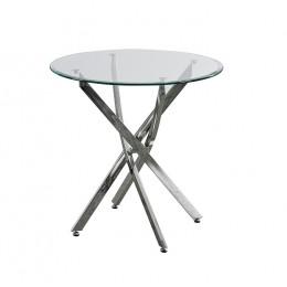 Кухонный стол Т-315 D80*73(H) Vetro