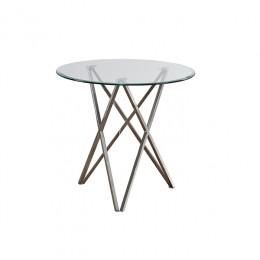 Кухонный стол Т-316 D80*73(H) Vetro