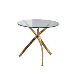 Кухонный стол Т-317 D80*73(H) Vetro