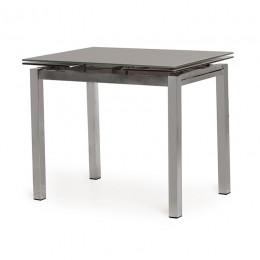 Стеклянный обеденный стол Т-231-8 90-(150)*70*75(H) Vetro