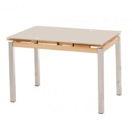 Стеклянный обеденный стол Т-231 110-(170)*74*75(H) Vetro
