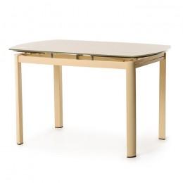 Стеклянный обеденный стол Т-600 120-(180)*80*75(H) Vetro