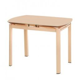 Стеклянный обеденный стол Т-600-2 100-(160)*70*75(H) Vetro